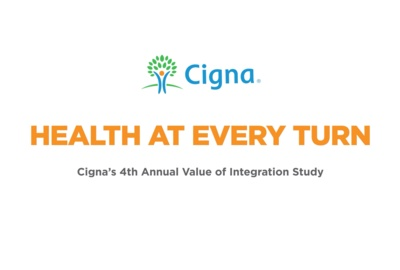 Cigna's 4th Annual Value of Integration Study, Health at Every Turn